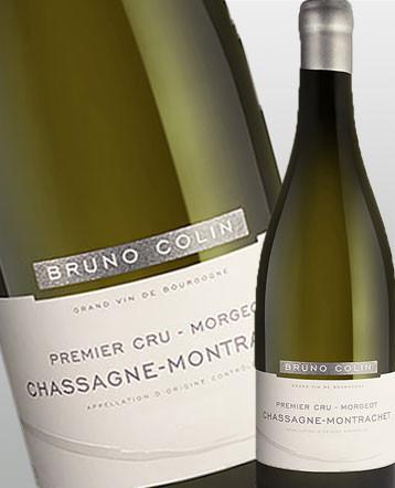 Chassagne Montrachet 1er Cru Morgeot blanc 2017 - Domaine Bruno Colin