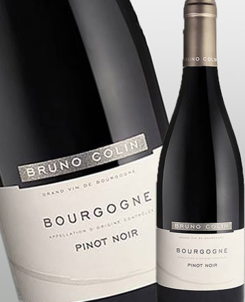 Bourgogne Pinot Noir rouge 2017 - domaine Bruno Colin