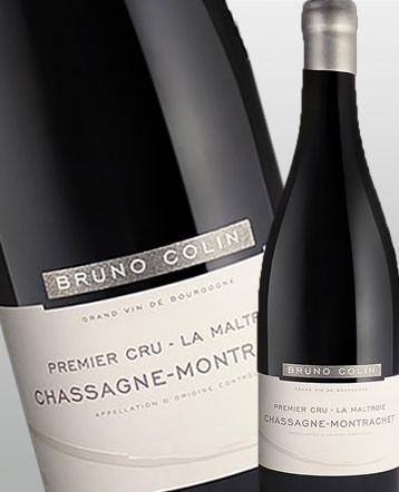 Chassagne-Montrachet 1er Cru La Maltroie rouge 2017 - domaine Bruno Colin