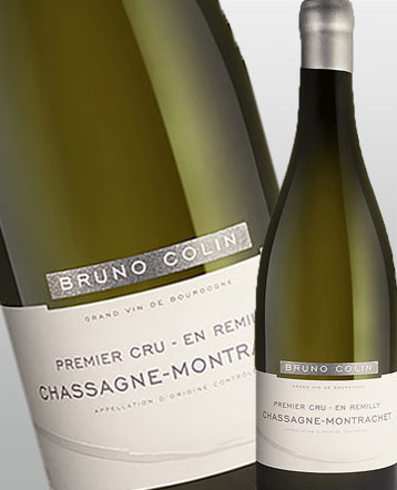 Chassagne-Montrachet 1er Cru En Remilly blanc 2017 - domaine Bruno Colin