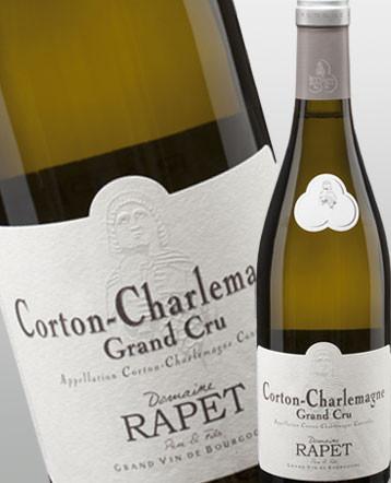 Corton Charlemagne Grand Cru blanc 2017 - domaine Rapet