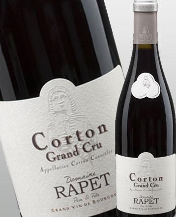 Corton Grand Cru rouge 2016 - domaine Rapet