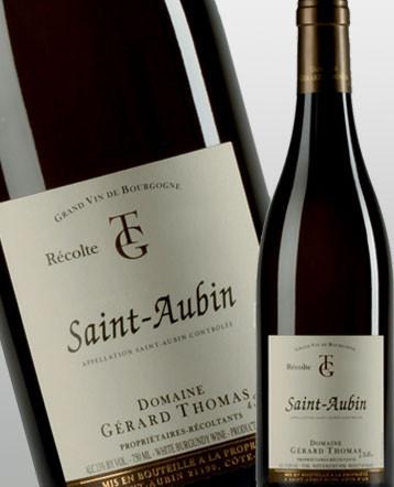 Saint Aubin blanc 2017 - domaine Gérard Thomas