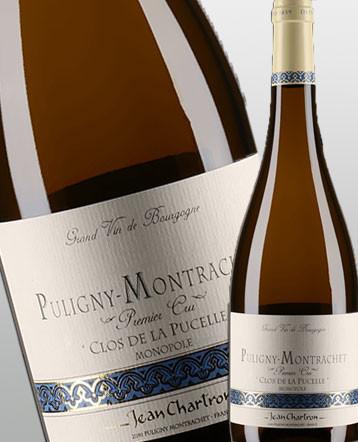 Puligny Montrachet 1er Cru Clos de la Pucelle blanc 2017 - domaine Jean Chartron