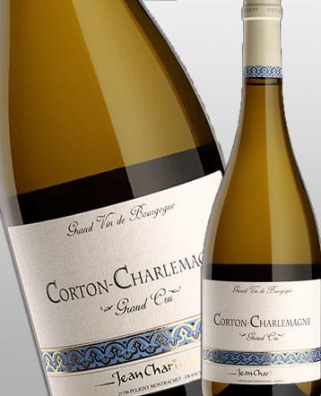 Corton Charlemagne Grand Cru blanc 2017 - domaine Jean Chartron