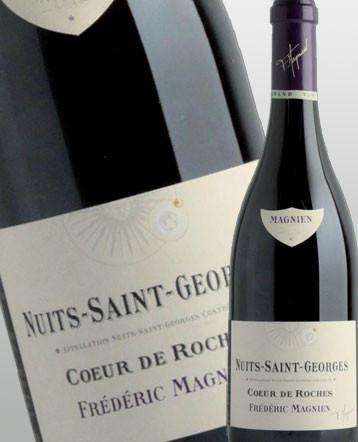 Nuits Saint Georges Coeur de Roches rouge 2016 - Frédéric Magnien