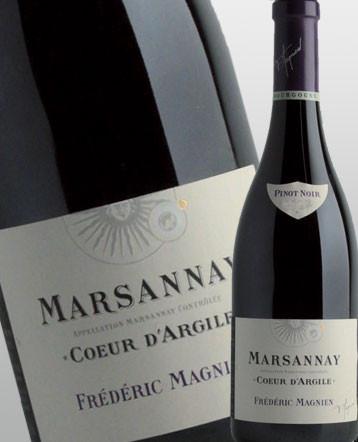 Marsannay Coeur d'Argile rouge 2015 - Frédéric Magnien
