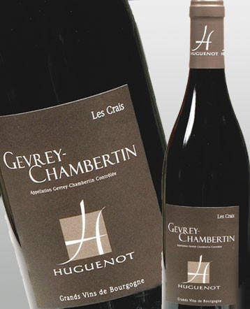 Gevrey Chambertin Les Crais rouge 2013 - Domaine Huguenot