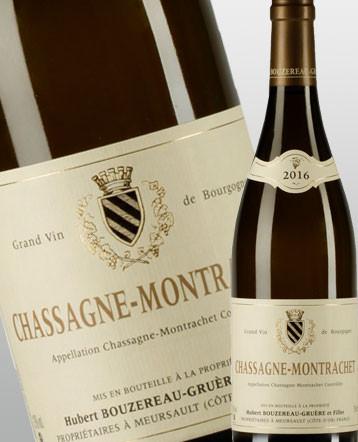 Chassagne-Montrachet rouge 2016 - domaine Bouzereau Gruere