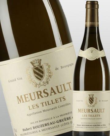 Meursault les Tillets blanc 2017 - Domaine Bouzereau Gruère