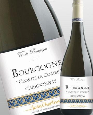 """Bourgogne Chardonnay """"Clos de la Combe"""" blanc 2017 - domaine Jean Chartron"""