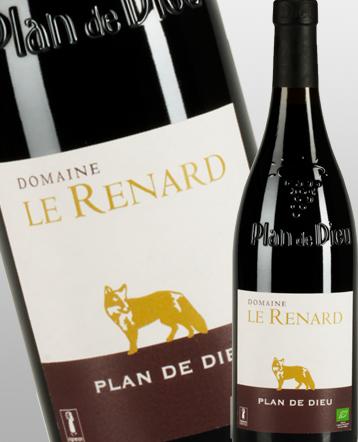 Côtes du Rhône Villages Plan de Dieu rouge 2017 - Domaine Le Renard