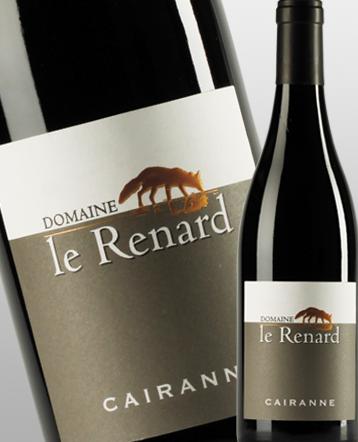 Cairanne rouge 2016 - domaine Le Renard