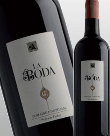 Languedoc Montpeyroux bio La Boda rouge 2015 - domaine d'Aupilhac