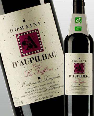 Languedoc Montpeyroux bio Truffières rouge 2017 - domaine d'Aupilhac