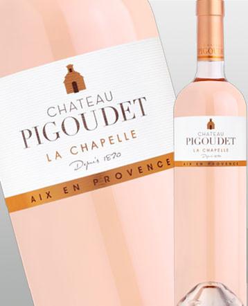 Côteaux d'Aix en Provence Chapelle rosé 2018 - château Pigoudet