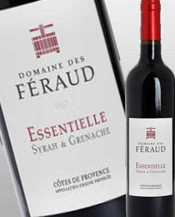 Côte de Provence rouge Cuvée Essentielle rouge 2015 - domaine des Feraud