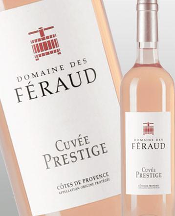 Côte de Provence Cuvée Prestige bio rosé 2018 - domaine des Feraud