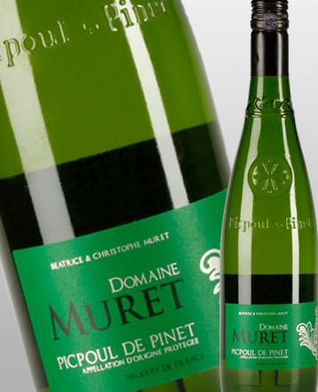 Picpoul de Pinet blanc 2018 - domaine Muret
