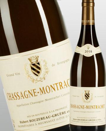 Chassagne-Montrachet blanc 2016 - domaine Bouzereau Gruere