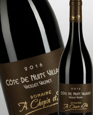 Côte de Nuits Villages Vieilles Vignes rouge 2016 - Domaine Chopin