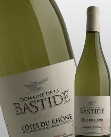 Côtes du Rhône blanc 2018 - domaine de la Bastide