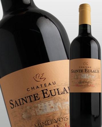 """Minervois """"Plaisir d'Eulalie"""" rouge 2018 - Château Sainte Eulalie"""