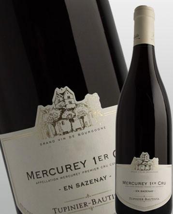 Mercurey 1er Cru En Sazenay rouge 2016 - Domaine Tupinier Bautista