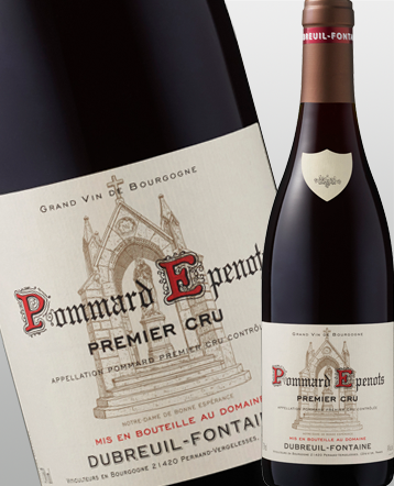 Pommard 1er Cru Les Epenots rouge 2017 - Domaine Dubreuil-Fontaine