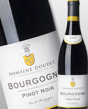 Bourgogne Pinot Noir rouge 2017 - Domaine Doudet