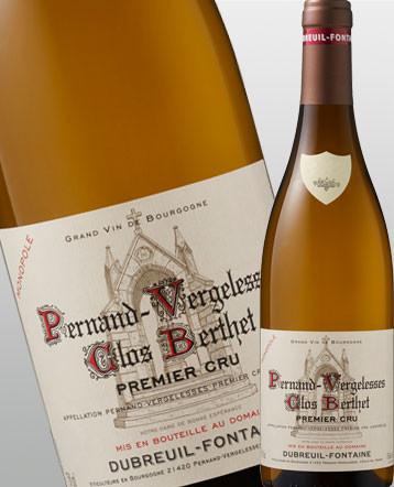 Pernand Vergelesses 1er Cru Clos Berthet Monopole blanc 2018 - Domaine Dubreuil Fontaine