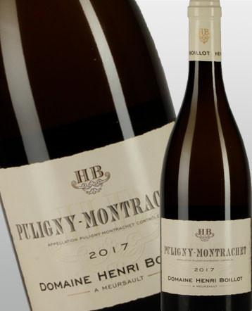 Puligny-Montrachet blanc 2017 - Domaine Henri Boillot