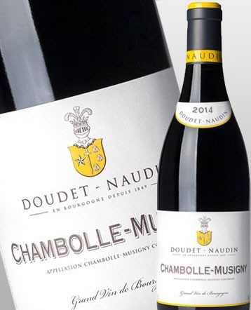 Chambolle-Musigny rouge 2014 - Doudet-Naudin
