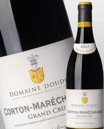Corton-Maréchaudes Grand-Cru rouge 2014 - Domaine Doudet