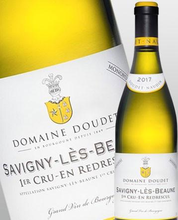 Savigny lès Beaune 1er Cru En Redrescul Monopole blanc 2017 - Domaine Doudet