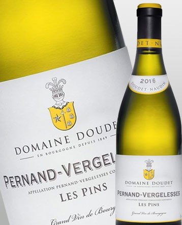 Pernand Vergelesses Les Pins blanc 2016 - Domaine Doudet