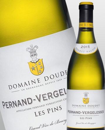 Pernand Vergelesses Les Pins blanc 2016 - Domaine Doudet