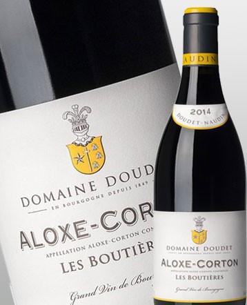 Aloxe - Corton Les Boutières Vieilles Vignes rouge 2014 - Domaine Doudet