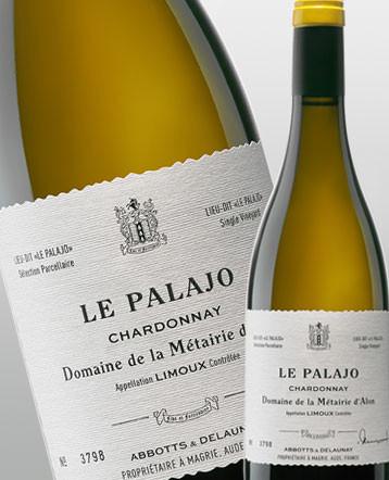 """""""Le Palajo"""" Chardonnay Limoux blanc 2018 - Domaine de la Métairie d'Alon"""
