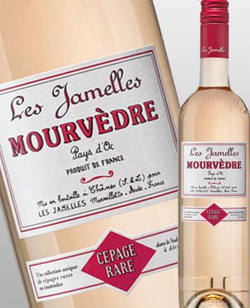 Mourvèdre rosé 2018 - Les Jamelles