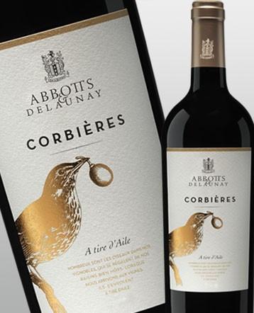 """Corbières """"A Tire d'Aile"""" rouge 2017 - Abbotts et Delaunay"""