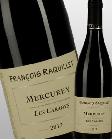 Mercurey les Carabys rouge 2017 - domaine François Raquillet