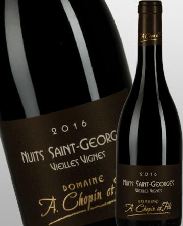 Nuits Saint Georges Vieilles Vignes rouge 2016 - Domaine Chopin