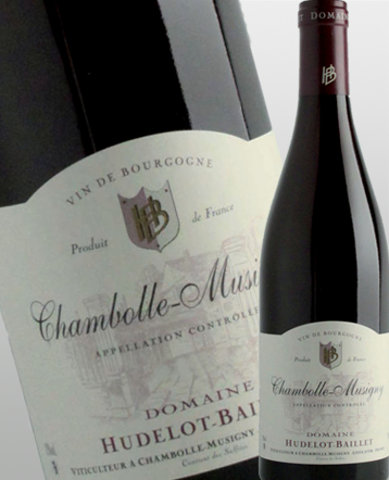 Chambolle Musigny rouge 2017 - Domaine Hudelot Baillet
