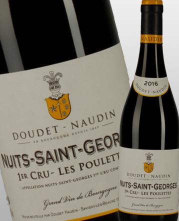 Nuits-Saint-Georges 1er Cru les Poulettes rouge 2016 - Doudet Naudin