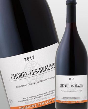 Chorey lès Beaune rouge 2017 - Domaine Tollot-Beaut