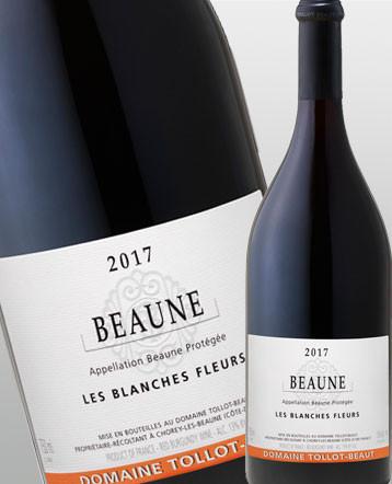 Beaune Les Blanches Fleurs rouge 2017 - domaine Tollot Beaut