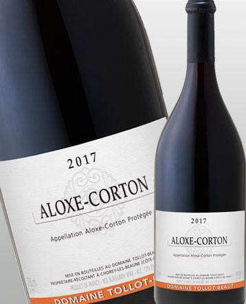 Aloxe Corton rouge 2017 - Domaine Tollot Beaut