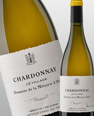 """""""Le Village"""" Chardonnay blanc 2017 - Domaine de la Métairie d'Alon"""
