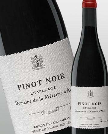 """""""Le Village"""" Pinot Noir rouge 2016 - Domaine de la Métairie d'Alon"""